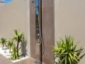 LUXE custom Tile Insert outdoor shower
