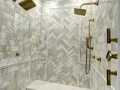 LUXE Linear Drains Tile Insert_Gold Fixtures