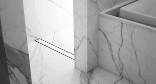 Tile Insert Linear Shower Drain