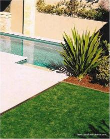 LUXE Linear Drains Garden Pool