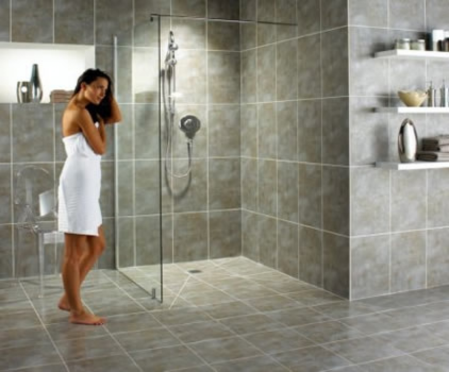 Linear Shower Drains Suitable For Senior Living Luxe