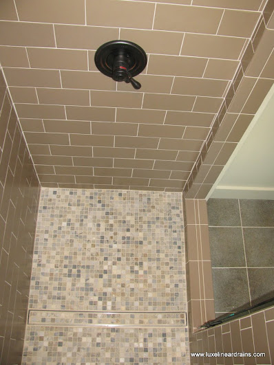 Linear Drains Vs Typical Shower Luxe