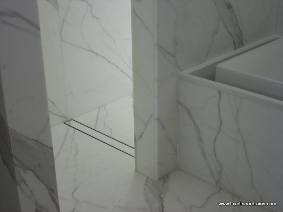 Create A Uniformed Look With The Tile Insert Linear Shower