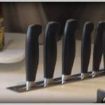 LUXE linear knife slot