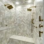 LUXE Linear contemporary bathroom