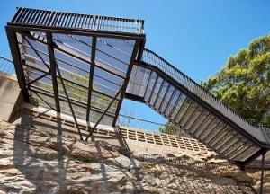 Keep Your Guests Safe on Rainy Days with a Wedgewire Staircase
